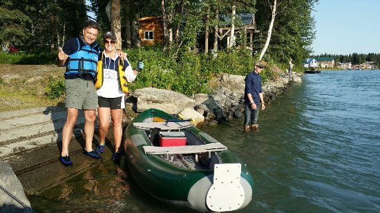 Kenai Riverfront Resort, Inc.: We did a 20 mile float on the river landing at the grounds
