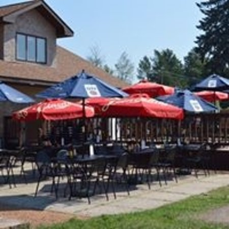 Tomahawk, WI: Lower level patio