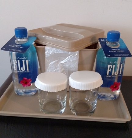 The Congress Plaza Hotel and Convention Center: Bottled water cost $4 - nice to know beforehand.