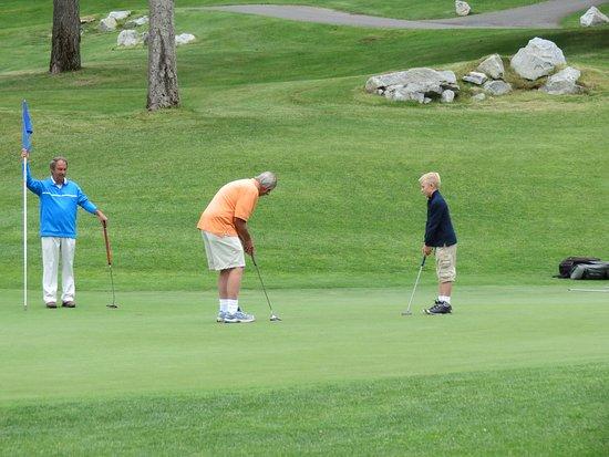 Stoneridge Resort: StoneRidge Golf Course, located next to resort