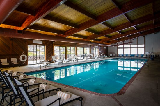Stoneridge Resort: Indoor pool in Rec Center