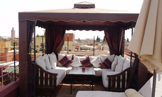 Riad El Zohar: The Small Tent on The Sun Terrace