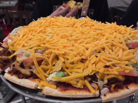 Tinley Park, IL: Taco Pizza