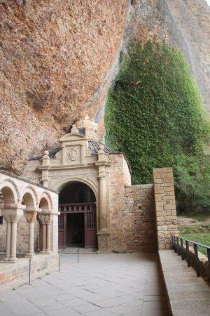 Jaca, إسبانيا: Visão da cova