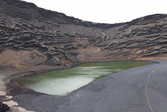 El Golfo, Spain: Groene meer