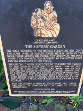 Westerville, OH: Sisters' Garden origin