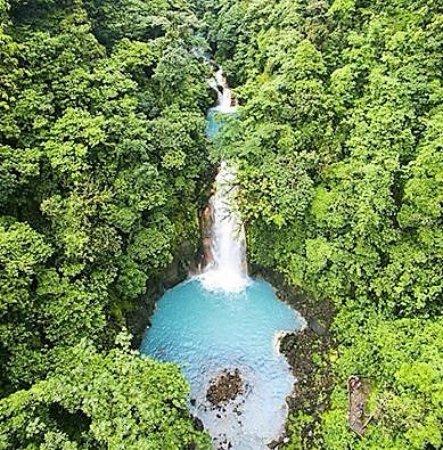 Tenorio Volcano National Park, Kosta Rika: Catarata Río Celeste