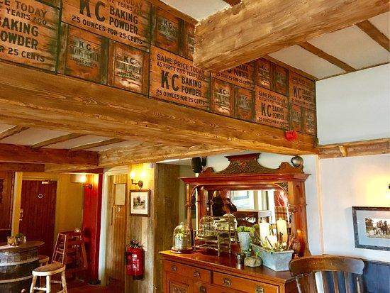 Denshaw, UK: Newly refurbished pub - June 2017