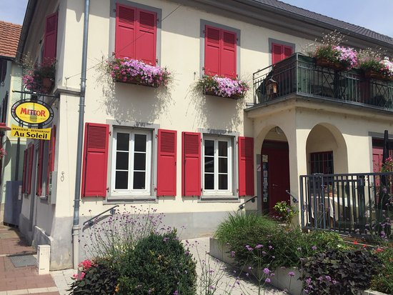 Eckbolsheim, Francia: Au Soleil