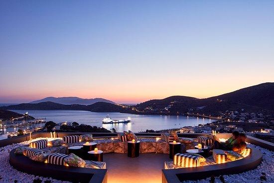 Liostasi Hotel & Suites : Sea Lounge