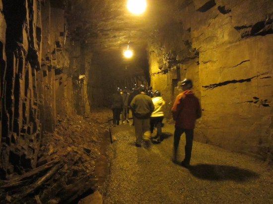 Bell Island, Canada: La marche dans la mine