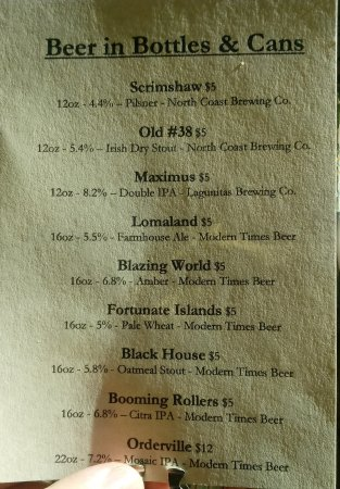 Dunsmuir, CA: Beer from good California brewers