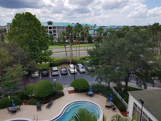Entrance Picture Of Hilton Garden Inn Orlando At Seaworld Orlando Tripadvisor