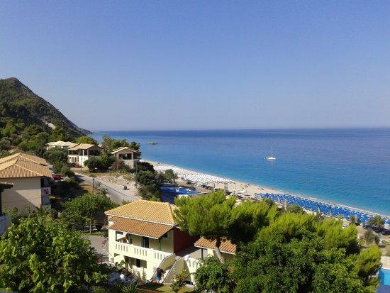 Hotel Sirios Kathisma: η θέα απο το δωμάτιό μας