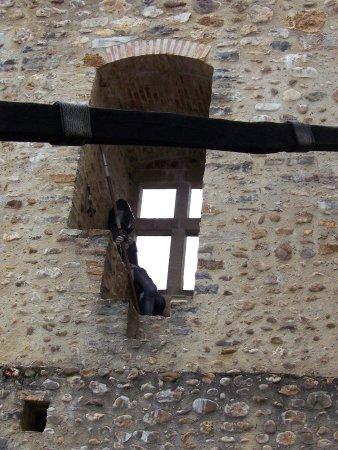 Mauvezin, France: eenzame wachter