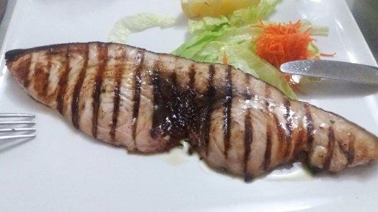 Lamezia Terme, Itália: Pesce spada alla griglia