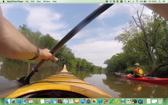 Wabasha, MN: Cruising the Chippewa river with Michael Andersen of the Broken Paddle Guiding Co.