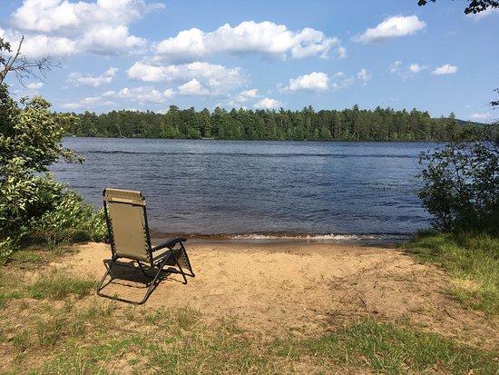 Fish creek pond campground reviews saranac lake ny for Fish creek pond