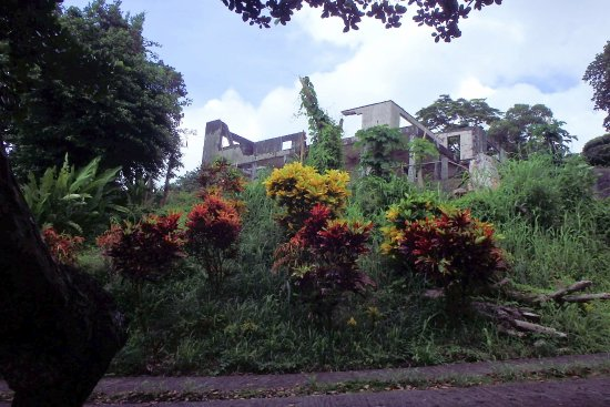 Belmont, Grenada: the old plantation house