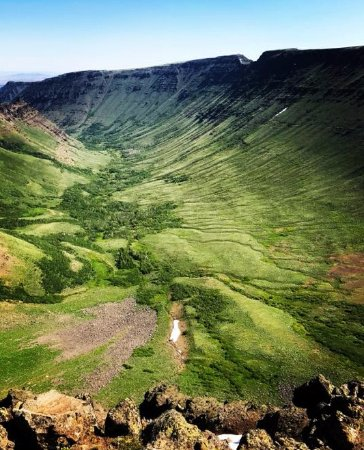 Steens Mountain: Kiger Gorge