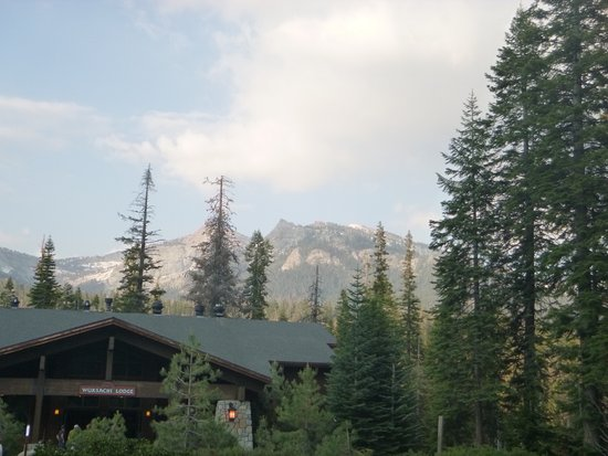 Wuksachi Lodge: The Main Lodge where check in and Peaks dining room are located.