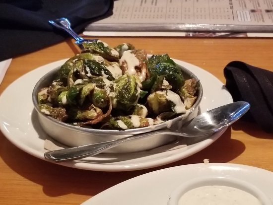 Palmdale, CA: Honey sriracha brussels sprouts