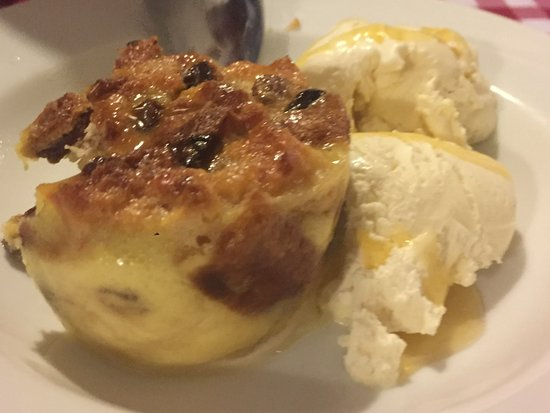 Memories Bistro: Bread and Buttler Pudding