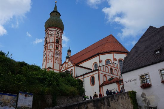 Kloster Andechs: the church tower.