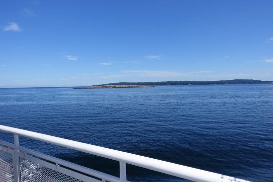 Sidney, Canadá: Vancouver Island disappearing from sight