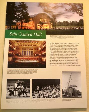 Lenox, MA: Details on Ozawa Hall