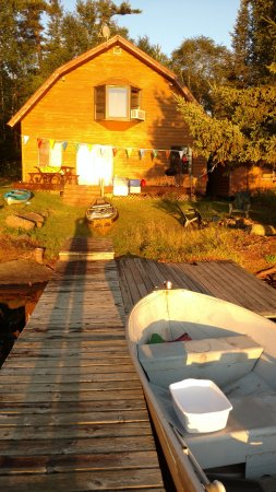 Our cottage with nice dock space