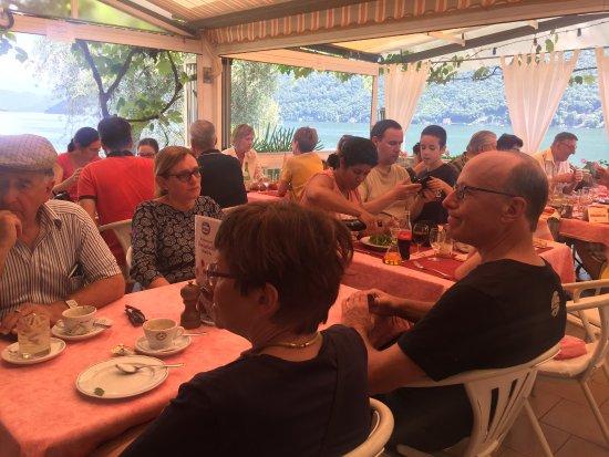 Ristorante Roccabella: Full House mit herrlicher Aussicht
