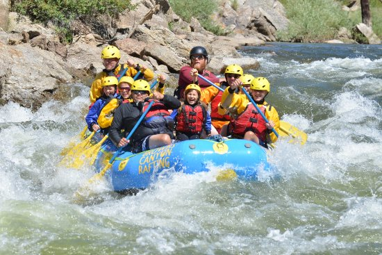 Buena Vista, CO: Family of 8 Arkansas River Adventure!