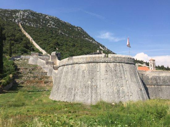 Ston, Croatia: Muralla