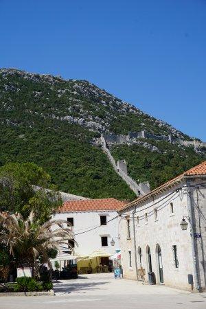 Ston, Croatia: Ciudad y Muralla