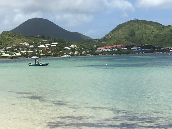 Grand Case, St-Martin/St Maarten : Some views from the boat