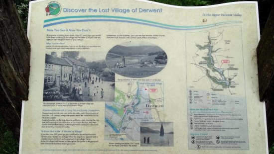 Peak District National Park, UK: Lost Village of Derwent