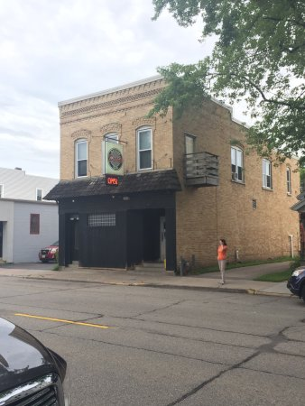 Oshkosh, WI: Don't let the front scare you off.  Classic local bar n grille