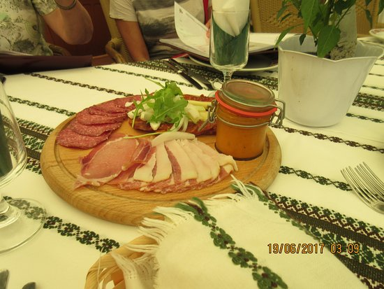 Balatonfoldvar, Hongarije: Complimentary Appetizer
