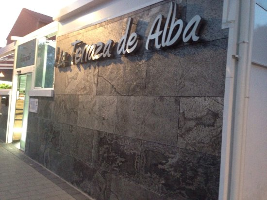 Entrada Y Bomba De Chocolate Picture Of La Terraza De Alba