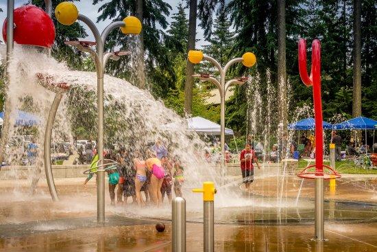 Des Moines, WA: Angle Lake Spray Park