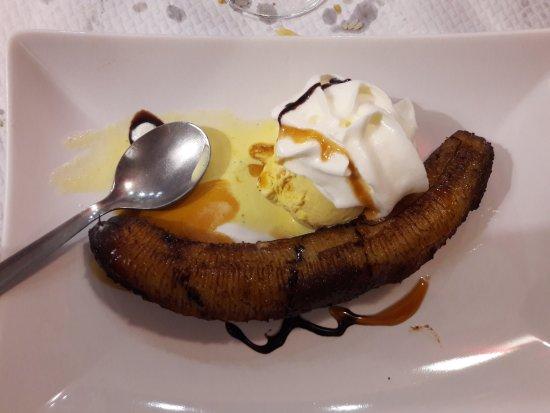 Portet-sur-Garonne, فرنسا: Banane grillée