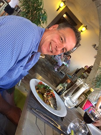 L'Auberge Provencale: The fish du jour--yum