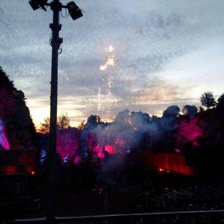 Bad Segeberg, Niemcy: Das Feuerwerk zum krönenden Abschluss