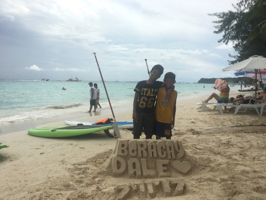 Boracay White Beach In Front Of Mandarin Island Hotel Picture Of