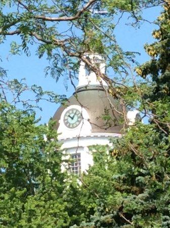 Kingston City Hall: Clock tower