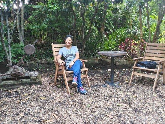North Sydney, Australia: Cuenta con varios espacios para sentarse a descansar