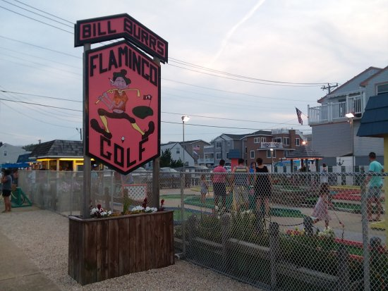 Ship Bottom, NJ: Flamingo Miniature Golf Course