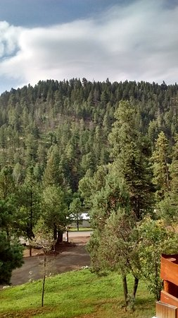Alto, NM: part of beautiul view from Sam's cabin