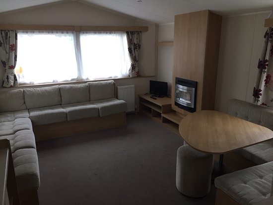 Solway Holiday Village: Living area